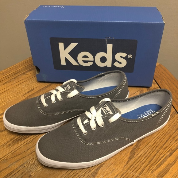 d37cf2a8 Keds Shoes   Womens Champion Core Canvas Sneakergraphite   Poshmark